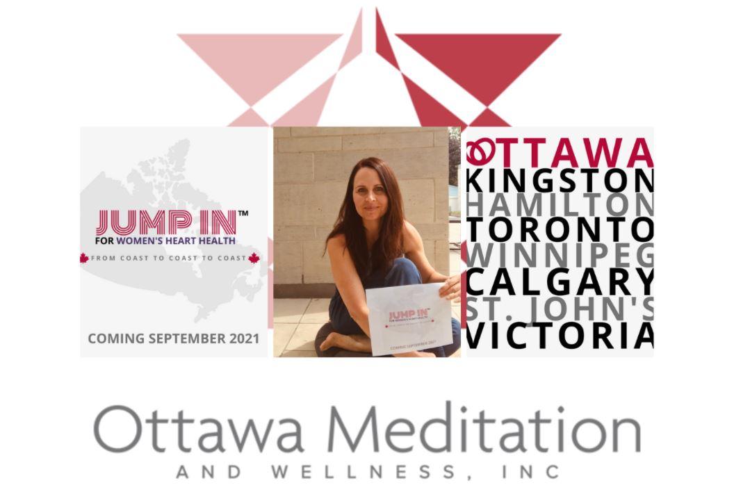 ottawa meditation JUMP IN campaign